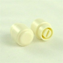 ALLPARTS SK-0714-025 White Switch Knobs for Telecaster
