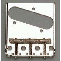 ALLPARTS TB-0020-001 Nickel Vintage 3 Saddle Bridge for Telecaster