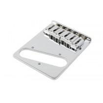 ALLPARTS TB-0030-L10 Left Handed Chrome Gotoh Bridge for Telecaster