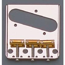 ALLPARTS TB-5120-001 Nickel Vintage 3 Saddle Bridge for Telecaster