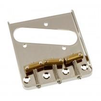 ALLPARTS TB-5125-001 Nickel Vintage Compensated Saddle Bridge for Telecaster