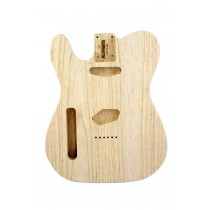 ALLPARTS TBAO-L Left Handed Ash Replacement Body for Telecaster
