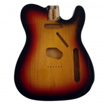 ALLPARTS TBF-3SBB Sunburst Finished Replacement Body for Telecaster With Binding