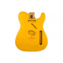 ALLPARTS TBF-CAY Candy Apple Yellow Replacement Body for Telecaster
