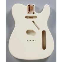 ALLPARTS TBF-OW Olympic White Finished Replacement Body for Telecaster