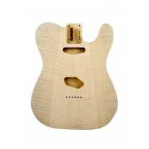ALLPARTS TBO-FM Flame Alder Replacement Body for Telecaster