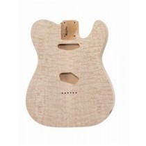 ALLPARTS TBO-QM Quilted Alder Replacement Body for Telecaster