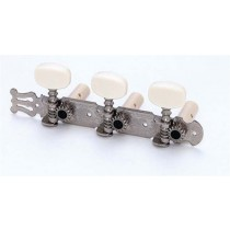 ALLPARTS TK-0125-001 Nickel Classical Tuner Set