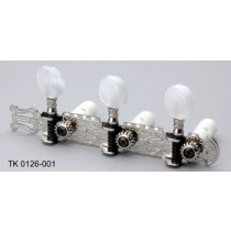 ALLPARTS TK-0126-001 Nickel Classical Tuning Tuner Set