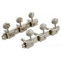 ALLPARTS TK-0703-001 Vintage Style 3x3 Keys Nickel