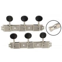 ALLPARTS TK-0704-001 Vintage Style 3x3 Keys Nickel