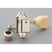ALLPARTS TK-0772-028 Gotoh 3x3 Vintage Style Keys Cream Buttons