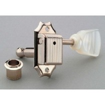 ALLPARTS TK-0772-055 Gotoh 3x3 Vintage Style Keys Pearloid Buttons