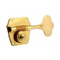 ALLPARTS TK-0790-002 Gotoh Reverse Wind Bass Tuning Keys Gold