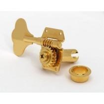 ALLPARTS TK-0791-002 Schaller 4 in Line Gold Bass Keys