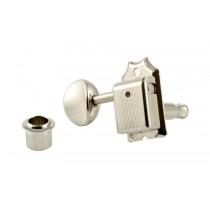 ALLPARTS TK-0880-L01 Gotoh Left Handed 6-in-line Keys Nickel