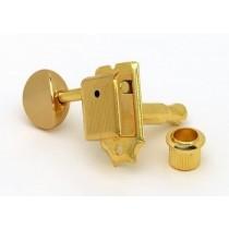 ALLPARTS TK-0880-L02 Gotoh Left Handed 6-in-line Keys Gold