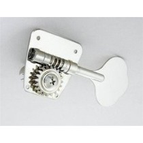 ALLPARTS TK-0883-001 Gotoh 2x2 Open Gear Vintage Bass Keys Nickel