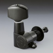 ALLPARTS TK-0960-003 Schaller 6-in-line Black Keys