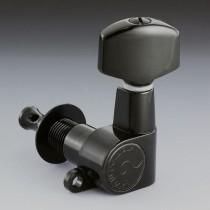 ALLPARTS TK-0960-L03 Schaller Left Handed 6-in-line Black Keys