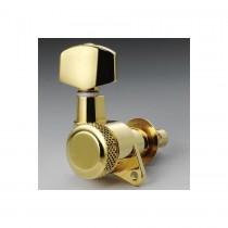 ALLPARTS TK-0974-002 Schaller 6-in-line Gold Locking Tuners