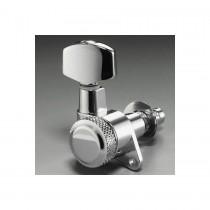 ALLPARTS TK-0974-010 Schaller 6-in-line Chrome Locking Tuners