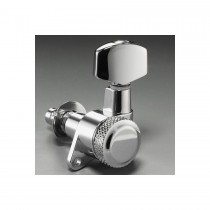 ALLPARTS TK-0974-L10 Schaller Left Handed 6-in-line Chrome Locking Tuners