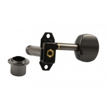 ALLPARTS TK-7060-003 Gotoh 6 in Line Black Stealth Tuning Keys