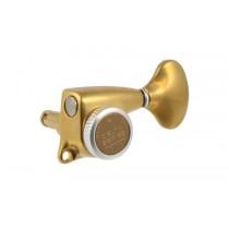 ALLPARTS TK-7248-002 Gotoh Delta 3x3 Antique Gold Locking Tuners