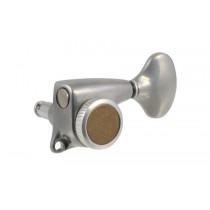 ALLPARTS TK-7248-010 Gotoh Delta 3x3 Antique Chrome Locking Tuners