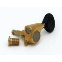ALLPARTS TK-7263-0E2 Gotoh Ant. Gold 510-Black Buttons