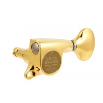 ALLPARTS TK-7267-002 Gotoh 510 6-in-line Gold Locking Tuners