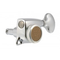 ALLPARTS TK-7277-010 Gotoh Delta 6L Locking Tuners Chrome