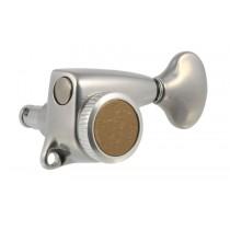 ALLPARTS TK-7278-010 Gotoh Delta 6L Locking Tuners Antique Chrome