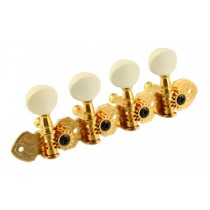 ALLPARTS TK-7371-002 Gotoh A Mandolin Keys Gold