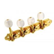 ALLPARTS TK-7388-002 Grover F Mandolin Keys Gold