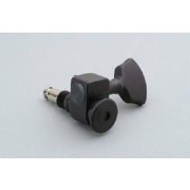 ALLPARTS TK-7437-013 Sperzel 3x3 Black Locking Tuners