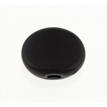 ALLPARTS TK-7710-023 Plastic Oval Buttons Black