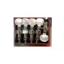 ALLPARTS TK-7866-001 Grover Banjo Keys Nickel