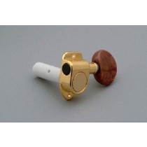 ALLPARTS TK-7965-002 6 Individual Classical Tuner Set Gold