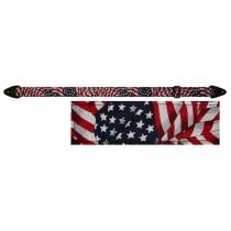 "Perri's FWS20-147 - 2"" Nylon Strap - American flag"