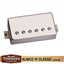 Tonerider Alnico IV Classics Bridge - Nickel Cover
