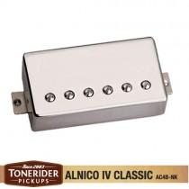 Tonerider Alnico IV Classics Bridge - Nickel Cover