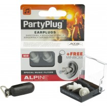 Alpine PartyPlug earplugs white