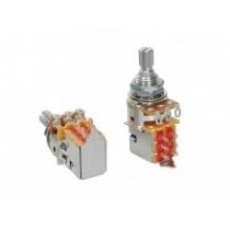 "Alpha ALPP250-B51  push-pull 250K linear potentiometer. standard length bushing .375"". 3/8"" diameter. made in Taiwan"