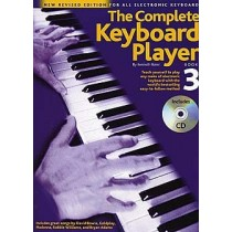 The Complete Keyboard Player 3 (Engelsk) Revidert m/CD