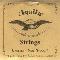 Aquila Tenor 19U Ukulele New Nylgut Key of C - GCEA SET 8 strengs sett til Ukulele.