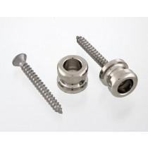 ALLPARTS AP-0682-001 Nickel Strap Button - pris pr. stk