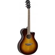 Yamaha APX600FM - Tobacco Brown Sunburst - akustisk gitar m/elektronikk