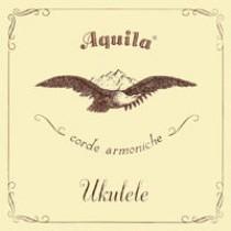 AQUILA BARITONE 23U UKULELE NEW NYLGUT NEW NYLGUT GCEA SET high G  - Strengesett til Ukulele.